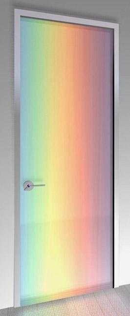 Sala Desvariante Rainbow_door